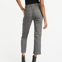 Womens Menswear Pants | Womens Bottoms | Abercrombie.com