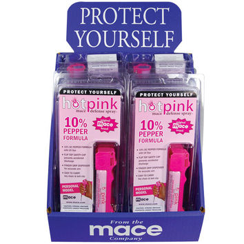 12 - Mace Personal Pink Model with Counter Display