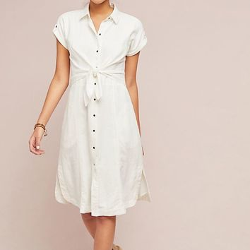 Elspeth Linen Shirtdress
