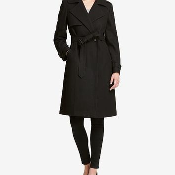 DKNY Belted Double-Breasted Trench Coat, Created for Macy's Women - Coats - Macy's