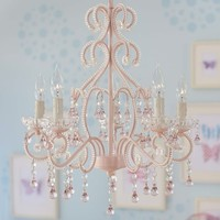 Pink Lydia Chandelier