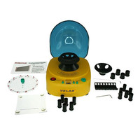Mini desk-top centrifuge VELAB, 12K rpm and 4 separate rotor options