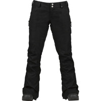 Burton - Womens Indulgence Snow Pants, True Black : Windward Boardshop