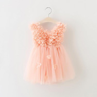 "The ""Lily"" Cascading Flower Tutu Dress"