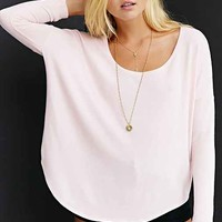 Project Social T Oh So Cozy Tunic Top-