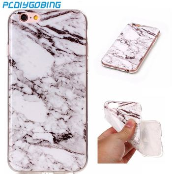 Marble Stone Soft TPU Phone Cases For Apple iphone 4 4s 5 5s SE 5C 6 6s 7 6 6s 7 Plus itouch 6 Cover Mobile Phone Accessories