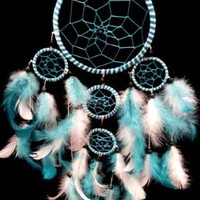 Handmade Dream Catcher with Feathers Wall Hanging Decoration ( with a Betterdecor Bag)