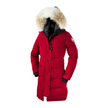 Canada Goose Shelburne Parka Women Outwear Down Jackets - Best Deal Online