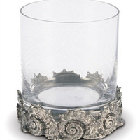 Vagabond House Nautilus Double Old Fashioned Glass-Set of 4
