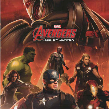 Avengers Age of Ultron Cast Marvel Comics Poster 22x34