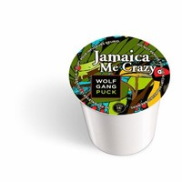 Wolfgang Puck Coffee, Jamaican Me Crazy, K-Cups for Keurig Brewers, 24-Count