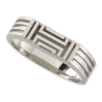 Rhodium-Plated Fitbit-Case Bracelet - Tory Burch - Silver