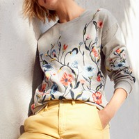 Sundry Embroidered Sweatshirt