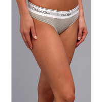 Calvin Klein Underwear Modern Cotton Bikini Grey Heather - Zappos.com Free Shipping BOTH Ways