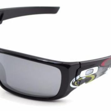 One-nice™ Oakley Troy Lee Designs Crankshaft Sunglasses OO9239-18 Polished Black / Black
