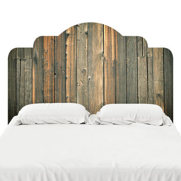 Barn Wood 2 Headboard Decal