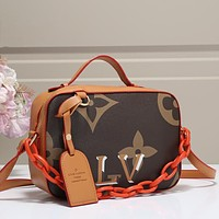 Louis Vuitton LV Women Fashion Leather Handbag Tote Satchel Crossbody