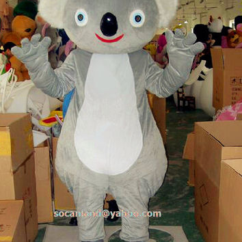 Koala Animal Mascot Costumes,Cosplay Costumes,Adults Costumes, Clothing,Halloween Costume,Party Mascot,Christmas Mascot Costume,Cosplay Cos