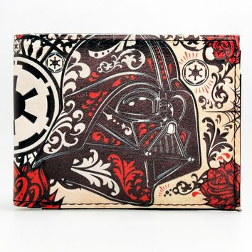Star Wars Force Episode 1 2 3 4 5   Bi-Fold Wallet  DFT-1613 AT_72_6