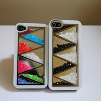 Genuine Crystal Diamond Bling Back Cover Case Protector for iPhone4/4S iPhone5