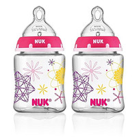 NUK Advanced Orthodontic Bottle in Assorted Colors, 5-Ounce, 2 Count