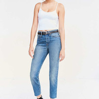 Levi's Wedgie High-Rise Jean - Coyote Desert - Urban Outfitters