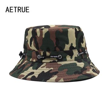 2017 Brand Men Bucket Hat Women Bob Caps Panama Camouflage Sad Boy Flat Hats For Men Cap Snapback Cotton Boonie Sun Bucket Hat