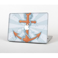 """The Vinatge Blue Striped & Chained Anchor Skin for the Apple MacBook Air 13"""""""