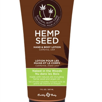 Hemp Seed Hand & Body Lotion - Naked in the Woods (7 fl oz)