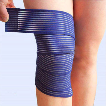 1 Pc elastic bandage tape sport knee support strap knee pads protector band for joelheira ankle leg wrist wrap