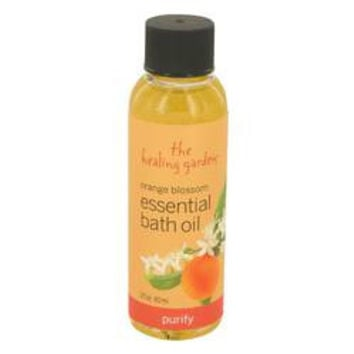 Orange Blossom The Healing Garden Purify Bath Oil By The Healing Garden