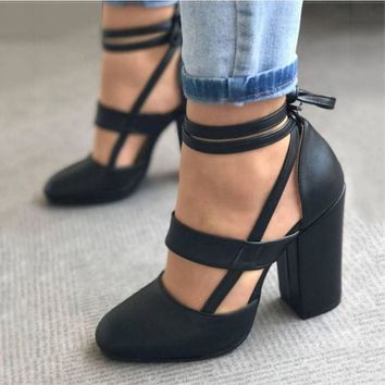 Women Pumps Sexy Gladiator High Heels 8CM Women Heels Shoes Female Wedding Dress Shoes Woman Valentine Stiletto High Heels Shoes