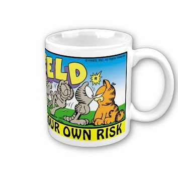 Garfield Logobox Annoy Me Mug from Zazzle.com