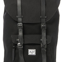 HERSCHEL SUPPLY The Little America Canvas Backpack in Black