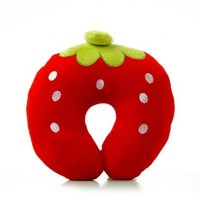 Strawberry U Neck Travel Pillow