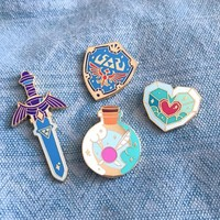 Legend of Zelda - Breath of the Wild Collection Enamel Pins