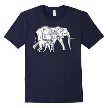 Elephant Dad: Daddy Son Daughter Family Father's Day Gift