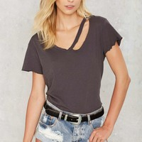 LNA Fallon V-Neck Tee