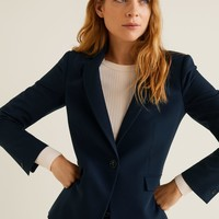 Essential structured blazer - Women | Mango USA