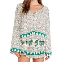 Jen's Pirate Booty Ashram Tunic in Ivory