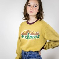 Take a Hike 70s Retro Sweatshirt