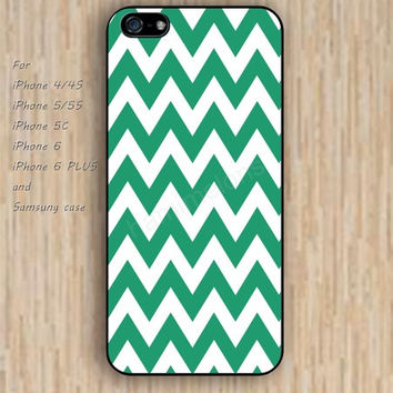 iPhone 6 case dream lighting green chevron iphone case,ipod case,samsung galaxy case available plastic rubber case waterproof B190
