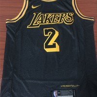 Los Angeles Lakers #2 Lonzo Ball City Edition Jersey