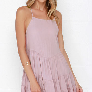 Be-you-tiful Mauve Dress