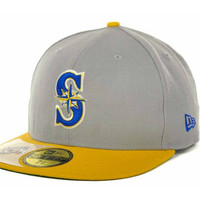 Seattle Mariners MLB Cooperstown Patch 59FIFTY Cap