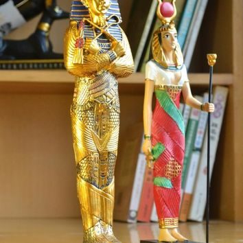 Egyptian travel sculpture ornaments modern simple home hall decoration Pharaoh furnishings ancient Egyptian legend