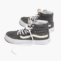 Vans® Unisex SK8-Hi High-Top Sneakers in Marled Fabric