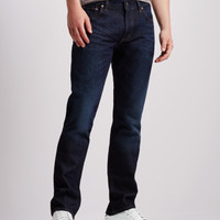 Straight Dark Wash Jean -