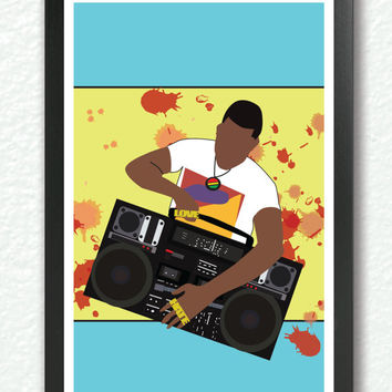 Classic Movie Poster - Do the right thing, pop art, retro art, hip hop poster, fun cool poster, 1980s A4 Poster