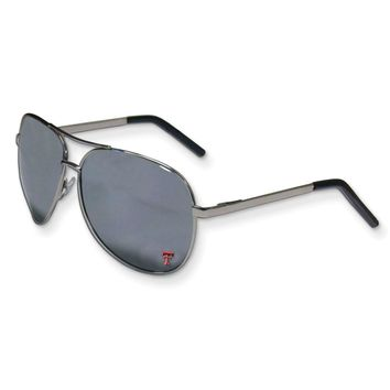 Collegiate Texas Tech Aviator Sunglasses
